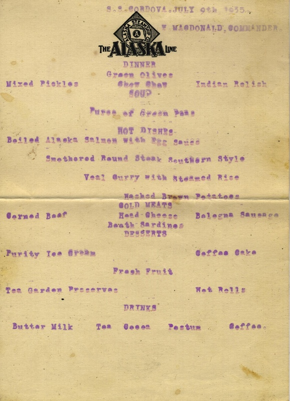 Ship menu 1