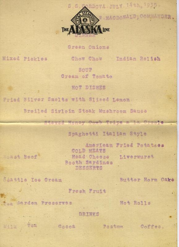 Ship menu 2