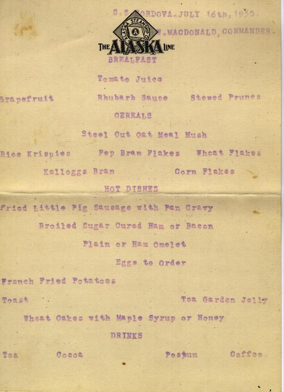 Ship menu 3