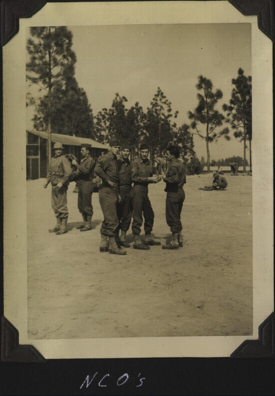 WWII 614th NCOs