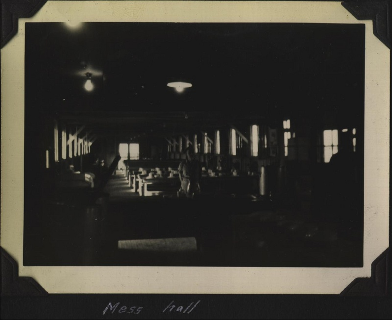 WWII 614th mess hall