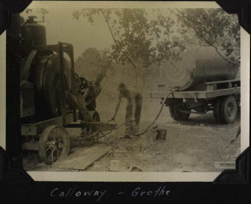 WWII Claiborne well Calloway Grothe