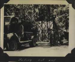 WWII Claiborne well bailing