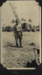 WWII Mac crane