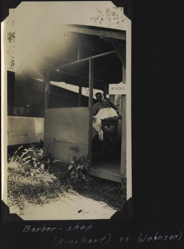 WWII NG Barbershop