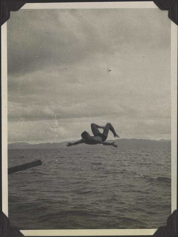 WWII NG Drury diving 2