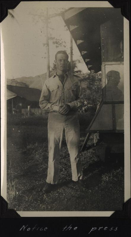 WWII NG Johnson pantspress