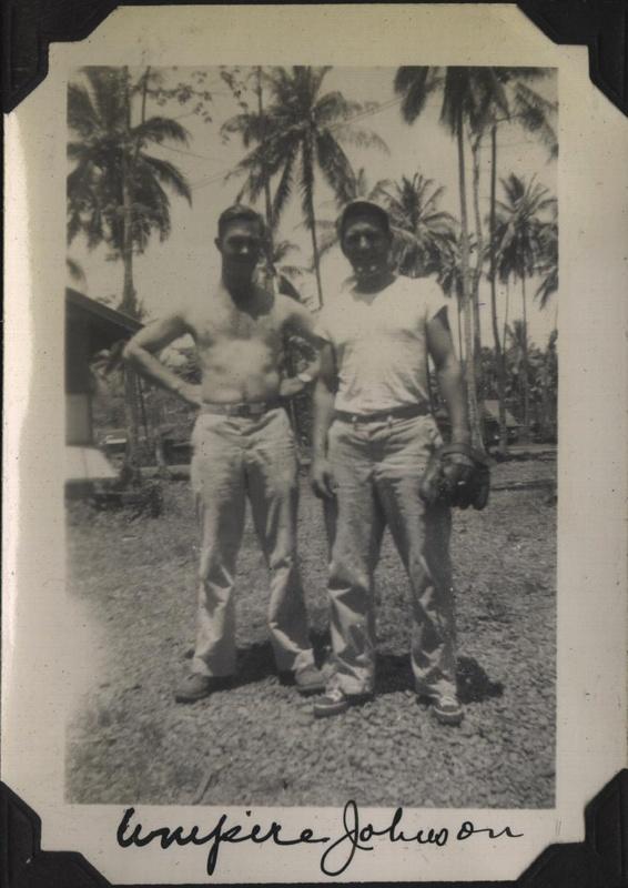 WWII NG Umpire Johnson