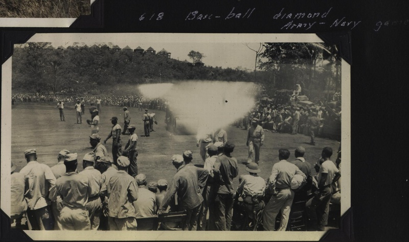 WWII NG baseball diamond