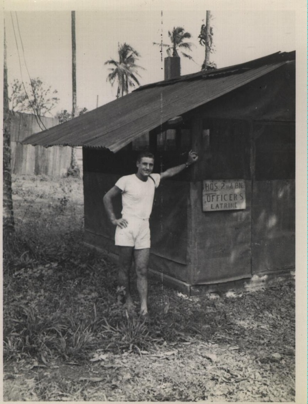 WWII NG officers latrine a