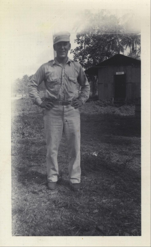 WWII NG officers shower 1