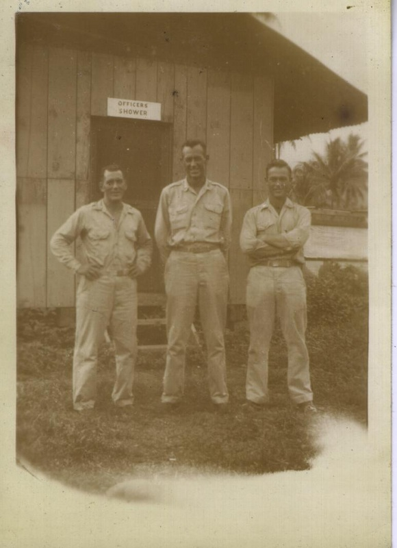WWII NG officers shower 2
