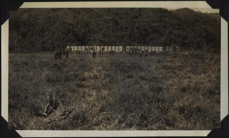WWII NG rifle range targets