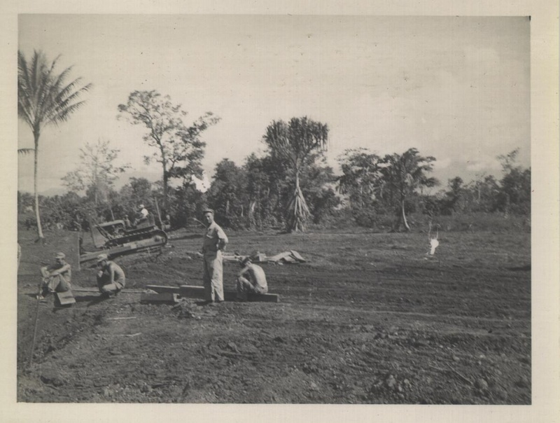 WWII NG road construction a