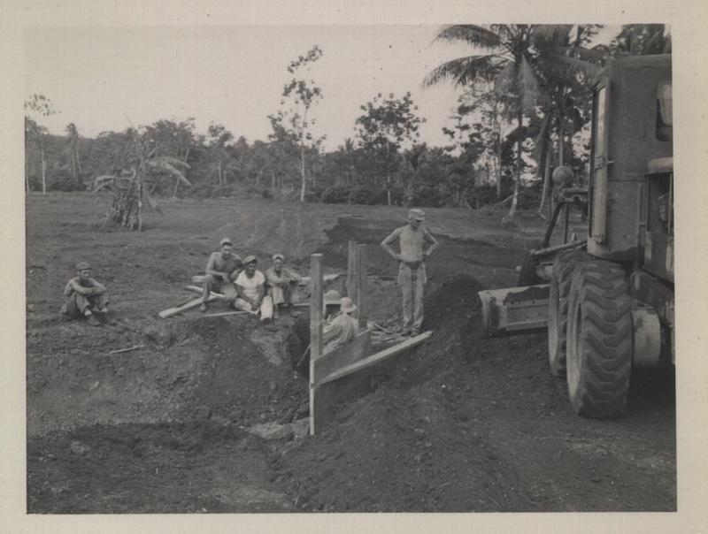 WWII NG sitting engrs grader a
