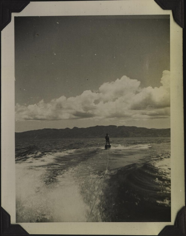 WWII NG waterskiing