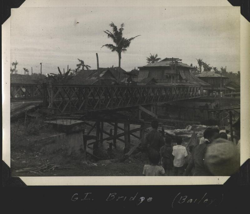 WWII PI Bailey bridge