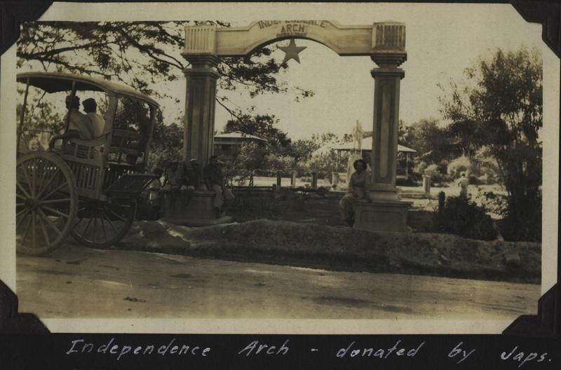 WWII PI Balawan arch