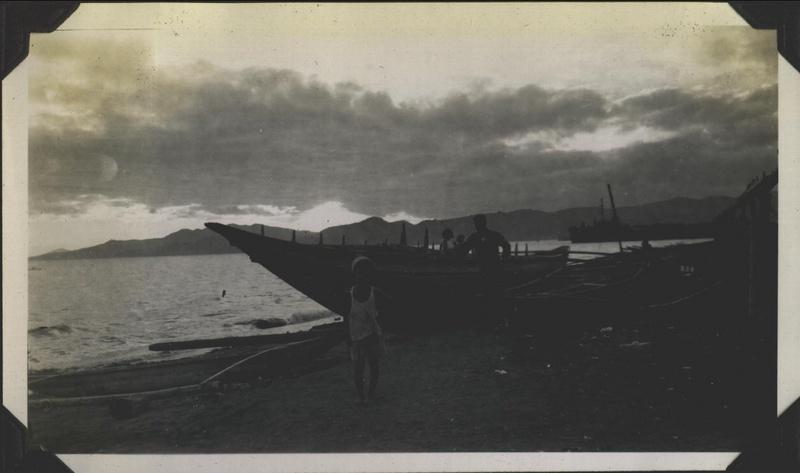WWII PI Batangas boats