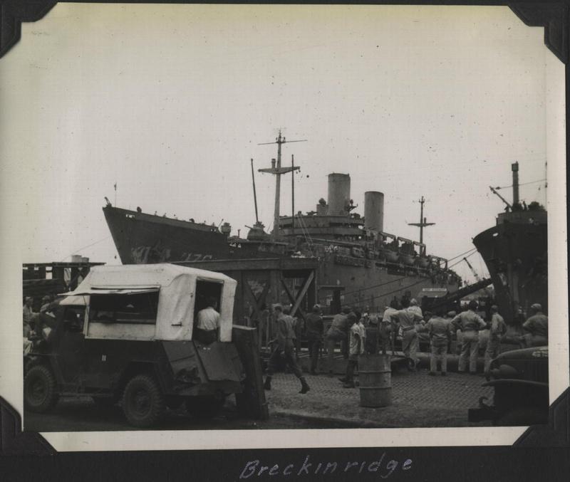 WWII PI Going home Breckinridge