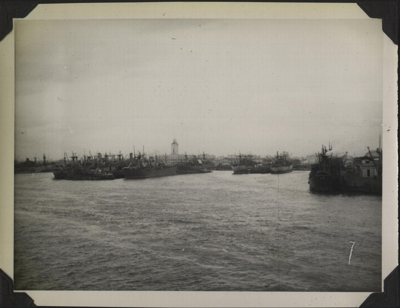 WWII PI Manila harbor 1