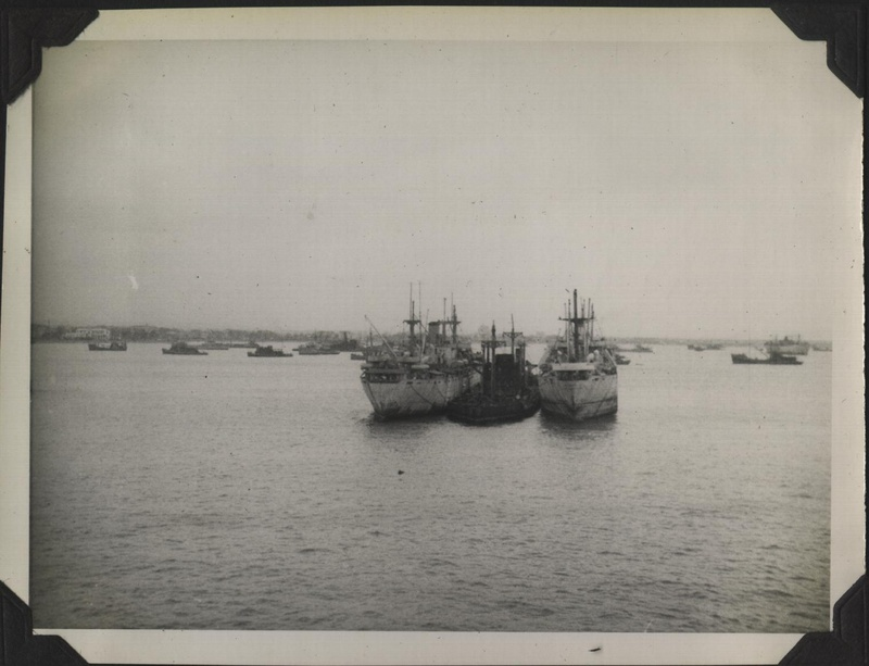 WWII PI Manila harbor 2