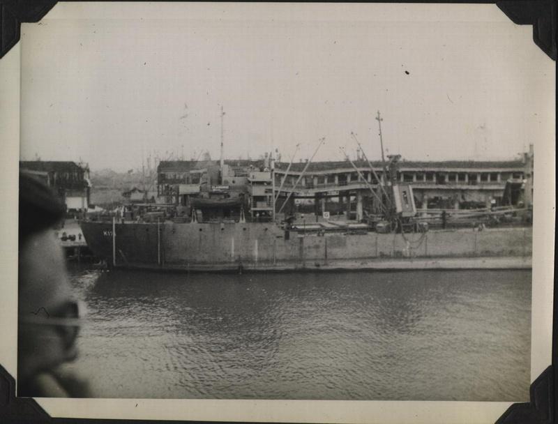 WWII PI Manila harbor 4
