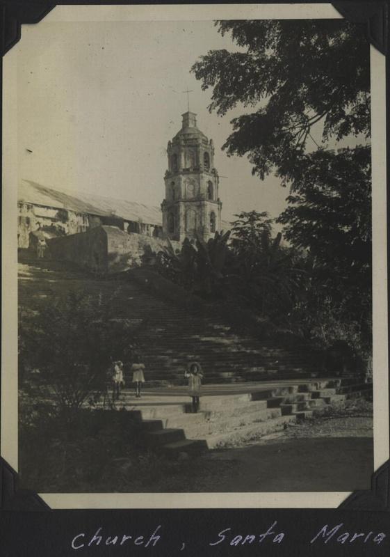 WWII PI SantaMaria church