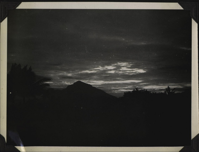 WWII PI Taal sunset