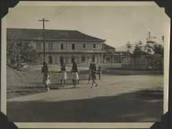 WWII PI Viga pedestrians