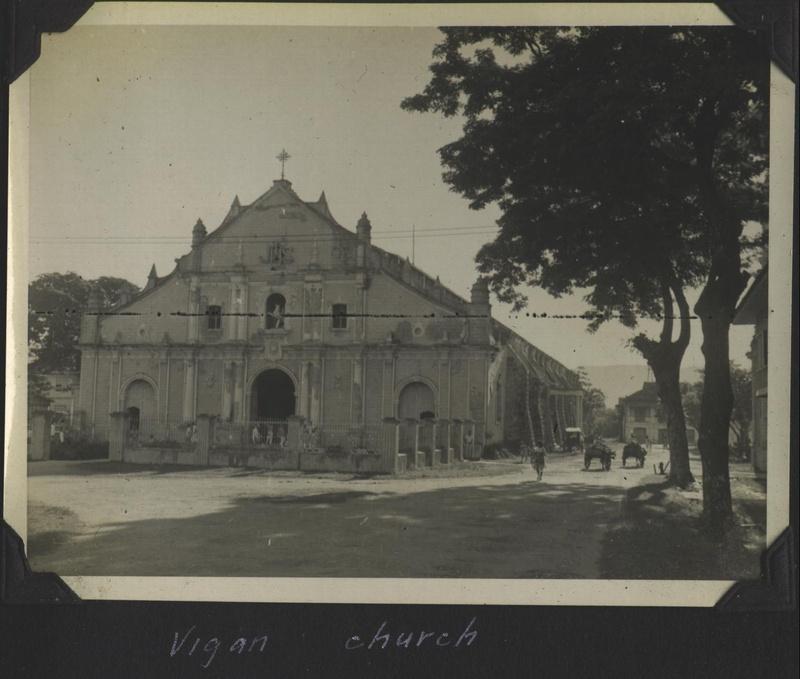 WWII PI Vigan church