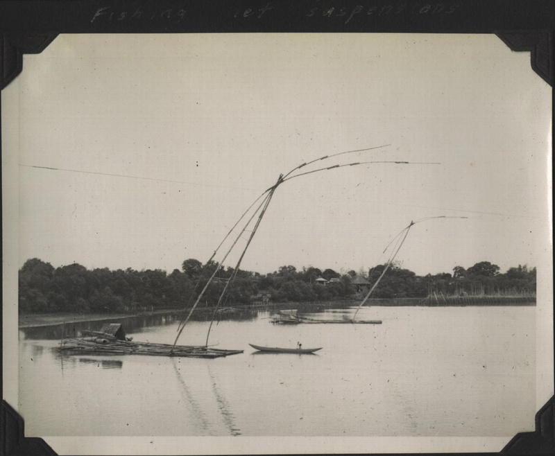 WWII PI fishing net