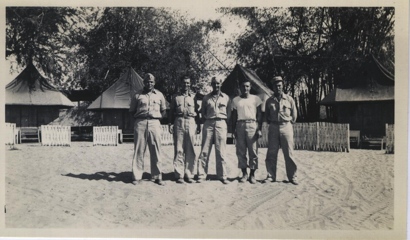 WWII PI group portrait a