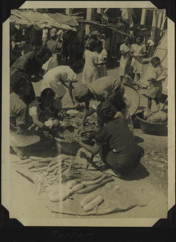 WWII PI market barter