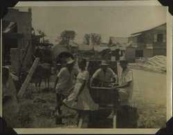 WWII PI village scene