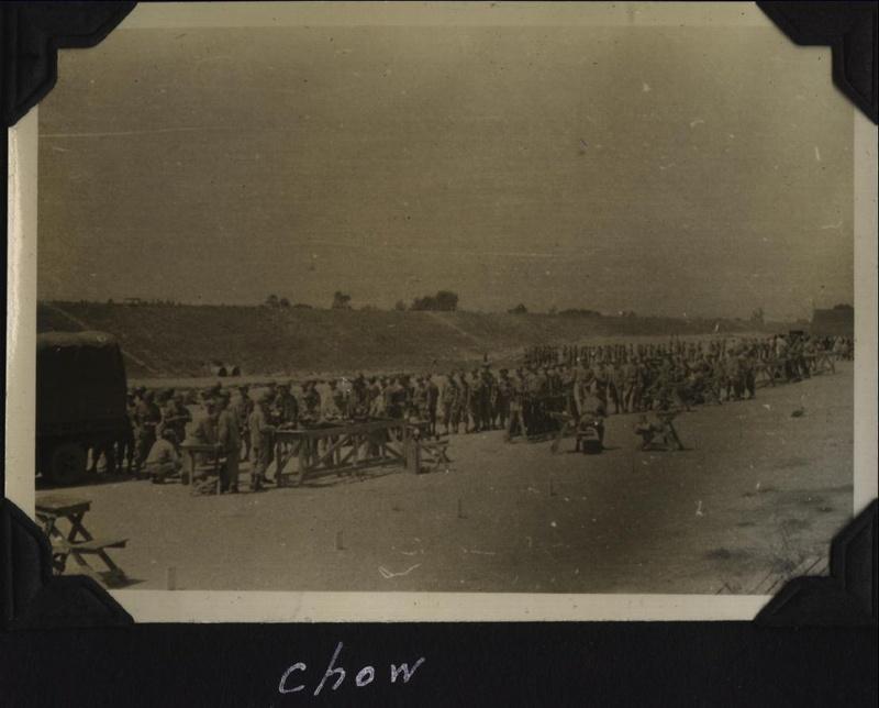 WWII Rifle range chow
