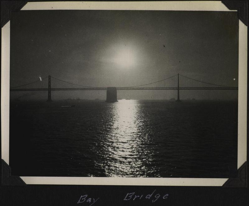 WWII SF Bay Bridge 1