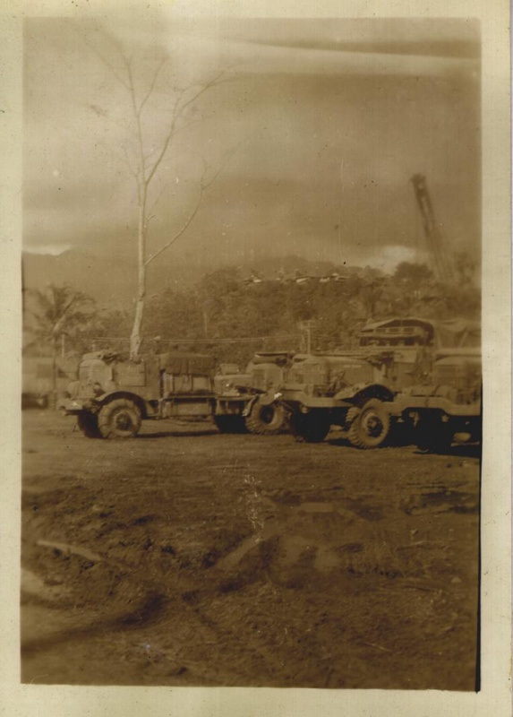 WWII equip crane