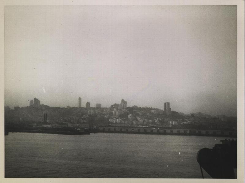 WWII harbor causeway