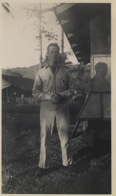 WWII portrait building