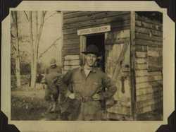 WWII shovel toolroom