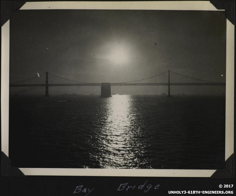 WWII SF Bay Bridge 1