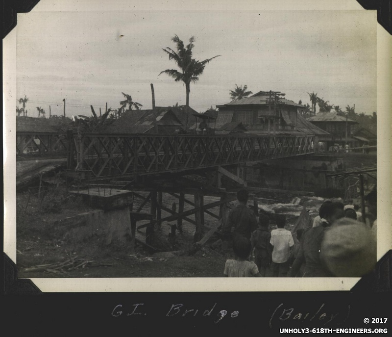 WWII PI Bailey bridge