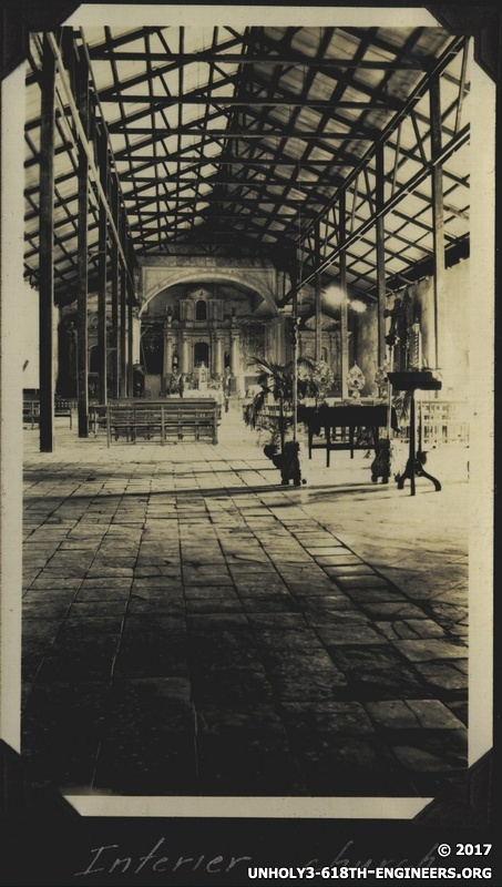 WWII PI Balawan church