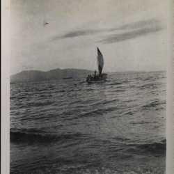 WWII PI Batangas boat sail