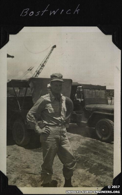 WWII PI Bostwick