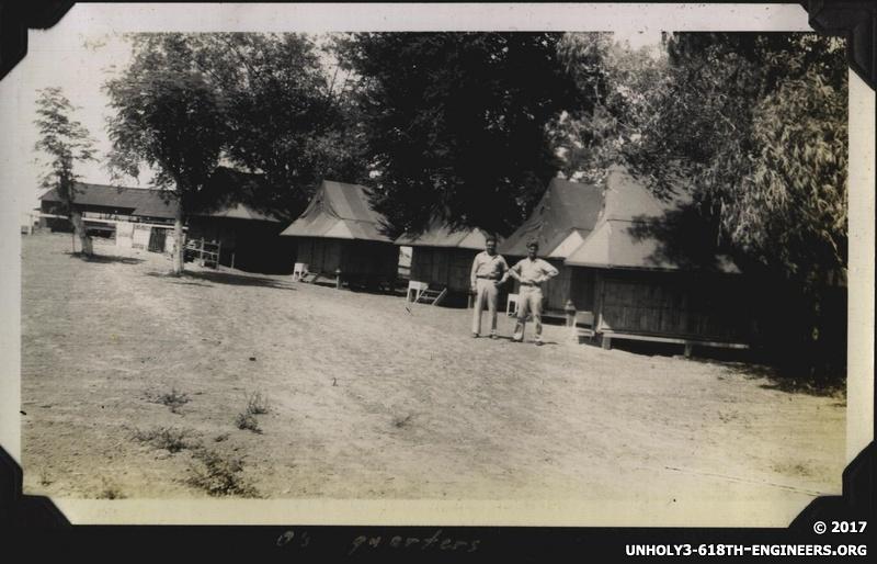 WWII PI SF company area 4