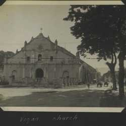 WWII PI Vigan church