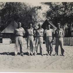 WWII PI group portrait a