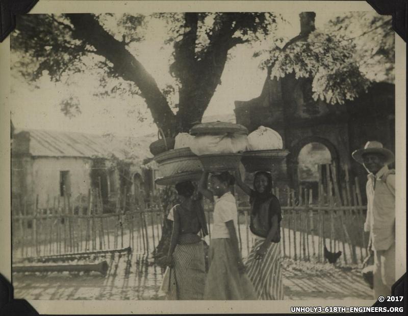 WWII PI women baskets